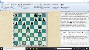 The value of a chess engine is limited here.