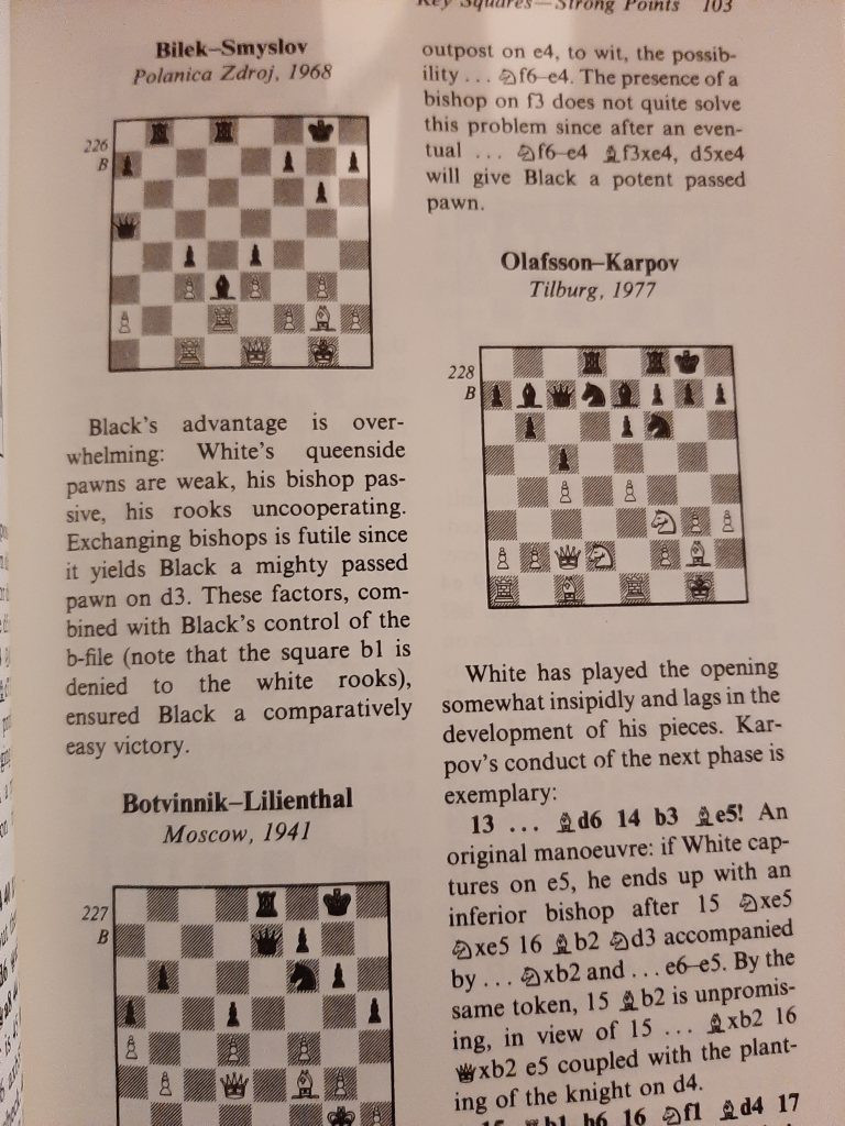 Positional Chess Handbook, page 103
